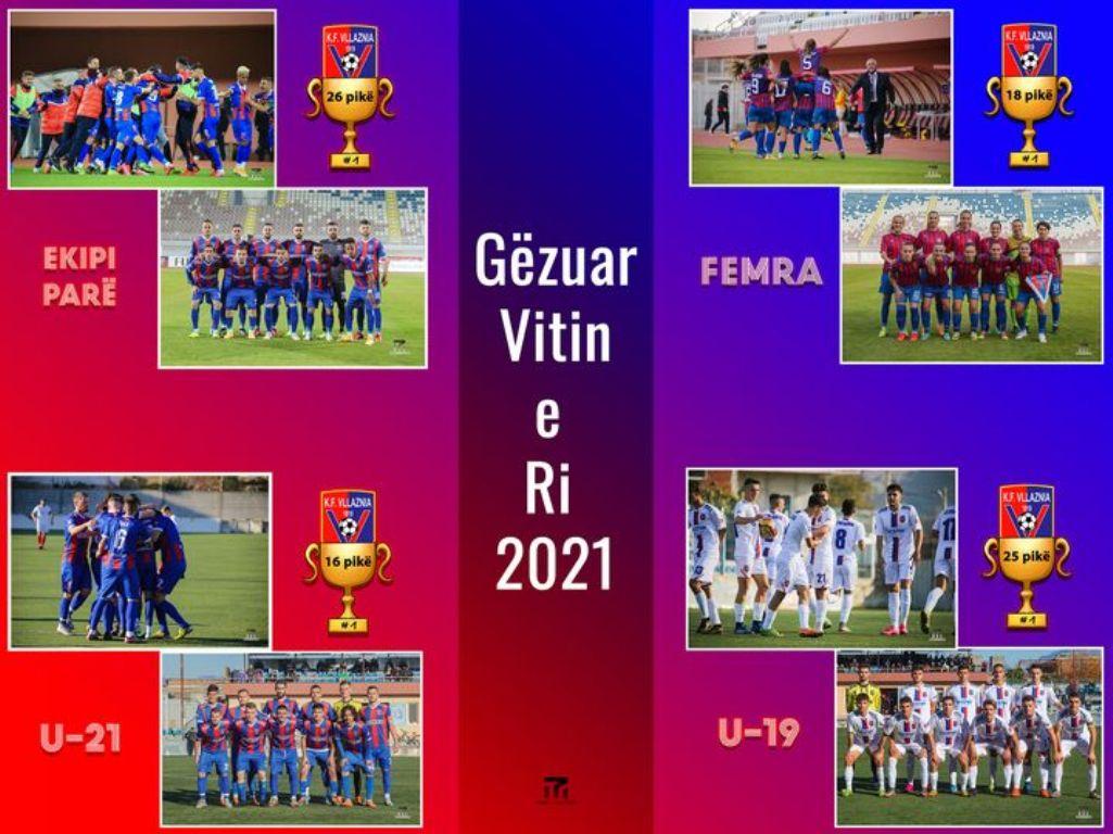 Viti i ri 2021 nis me kartolinën e urimit të Vllaznisë ...